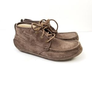 Ugg Lyle Grizzly Brown Boot Sz 9